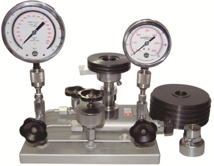 #Categoria Calibradores de pressão sistema peso morto
