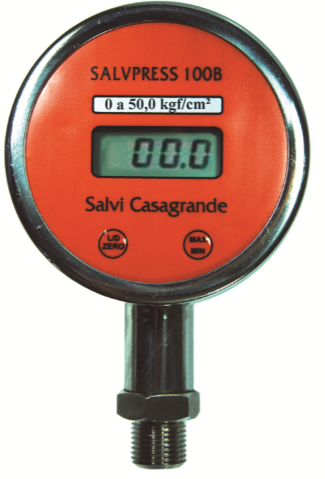 Manômetro Digital – SALVPRESS 100B
