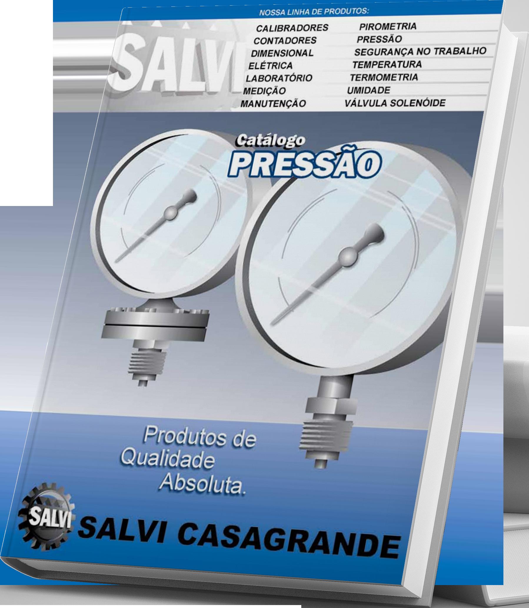 Catálogo online de Pressão