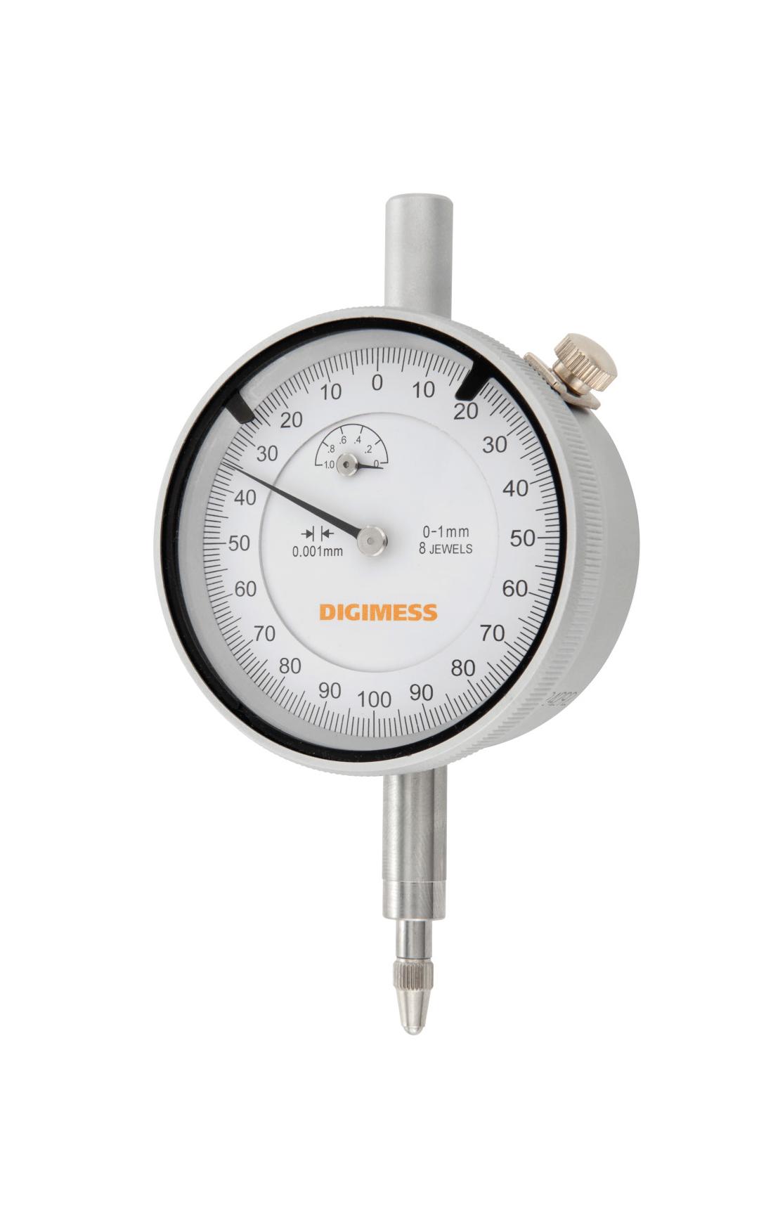 #Categoria Relógios Comparadores com Graduação de 0,001mm